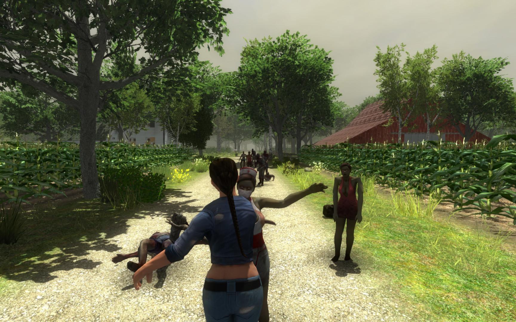 7 Days to Die Auf der Farm und Zombies