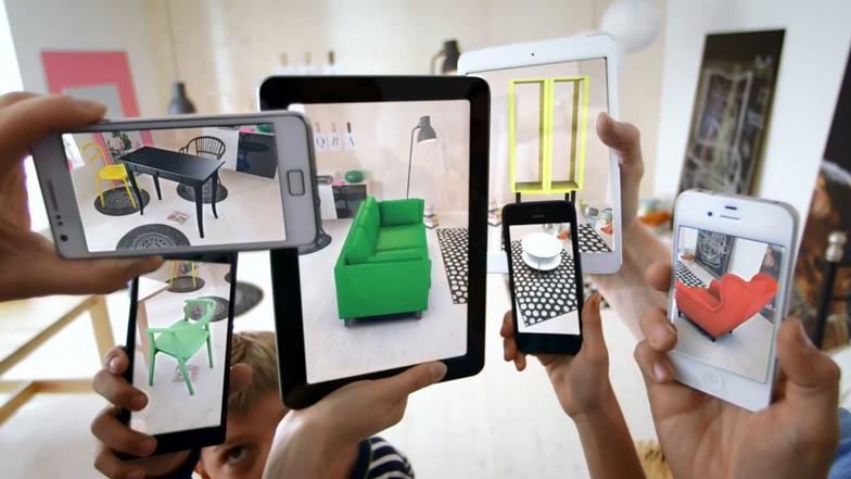 Augmented Reality - Möbelhäuser machten erste Schritte