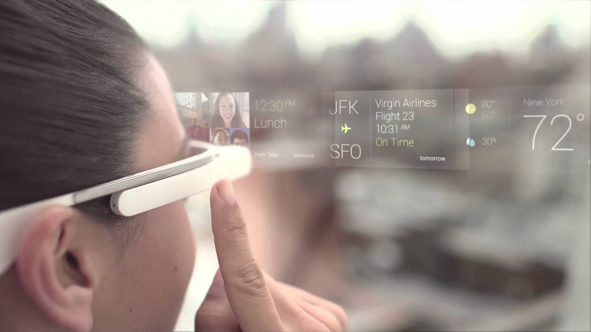 Google Glass - Augmented Reality