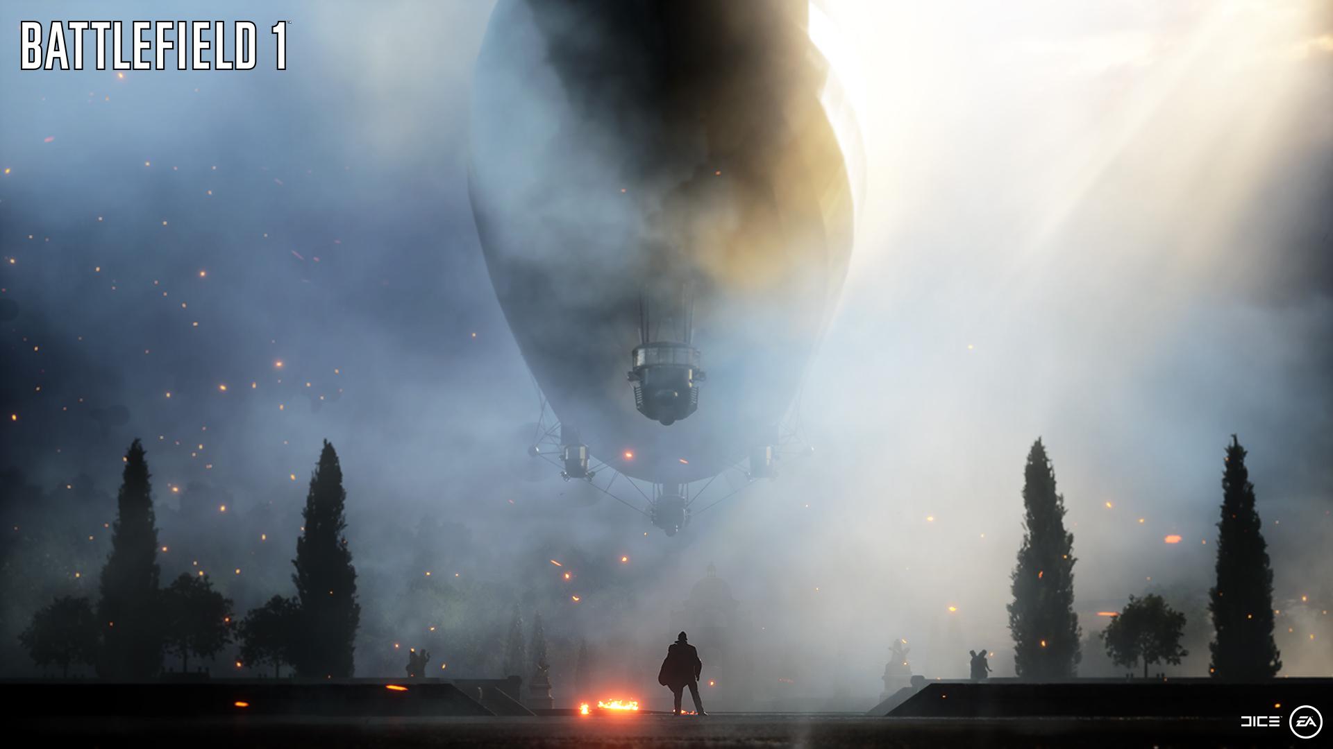 Battlefield 1- Gigantischer Zeppelin