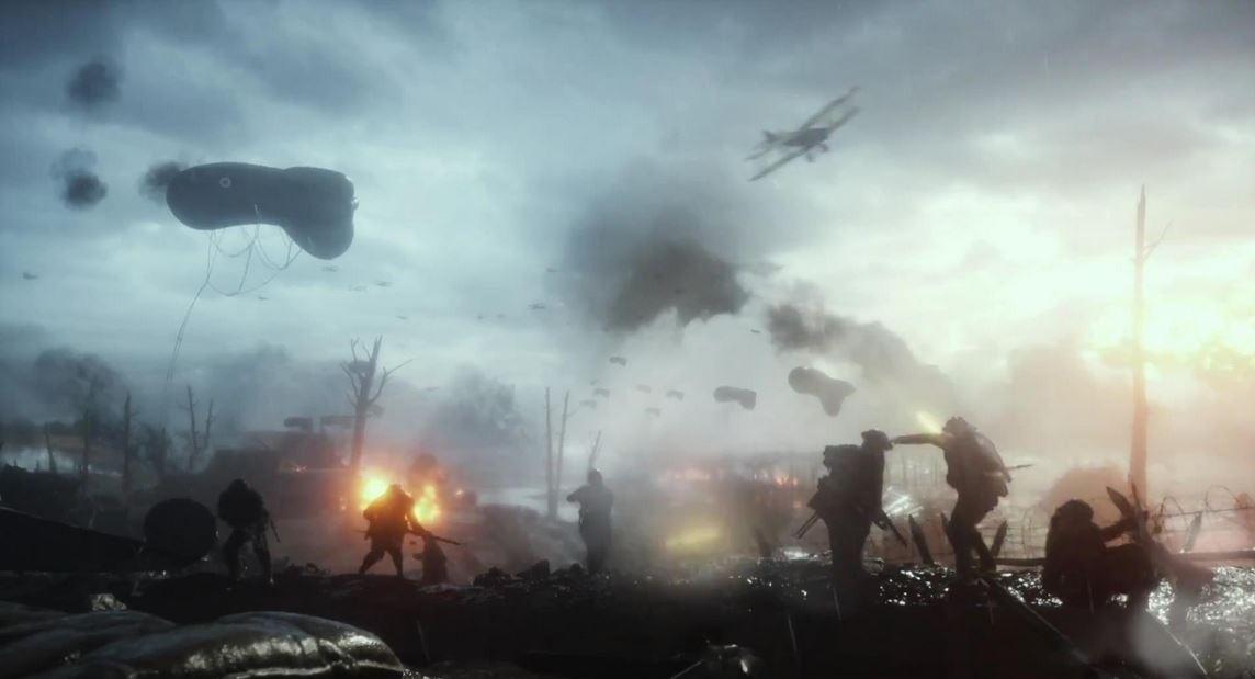 Battlefield - Ein Schlachtfeld des Ersten Weltkrieges