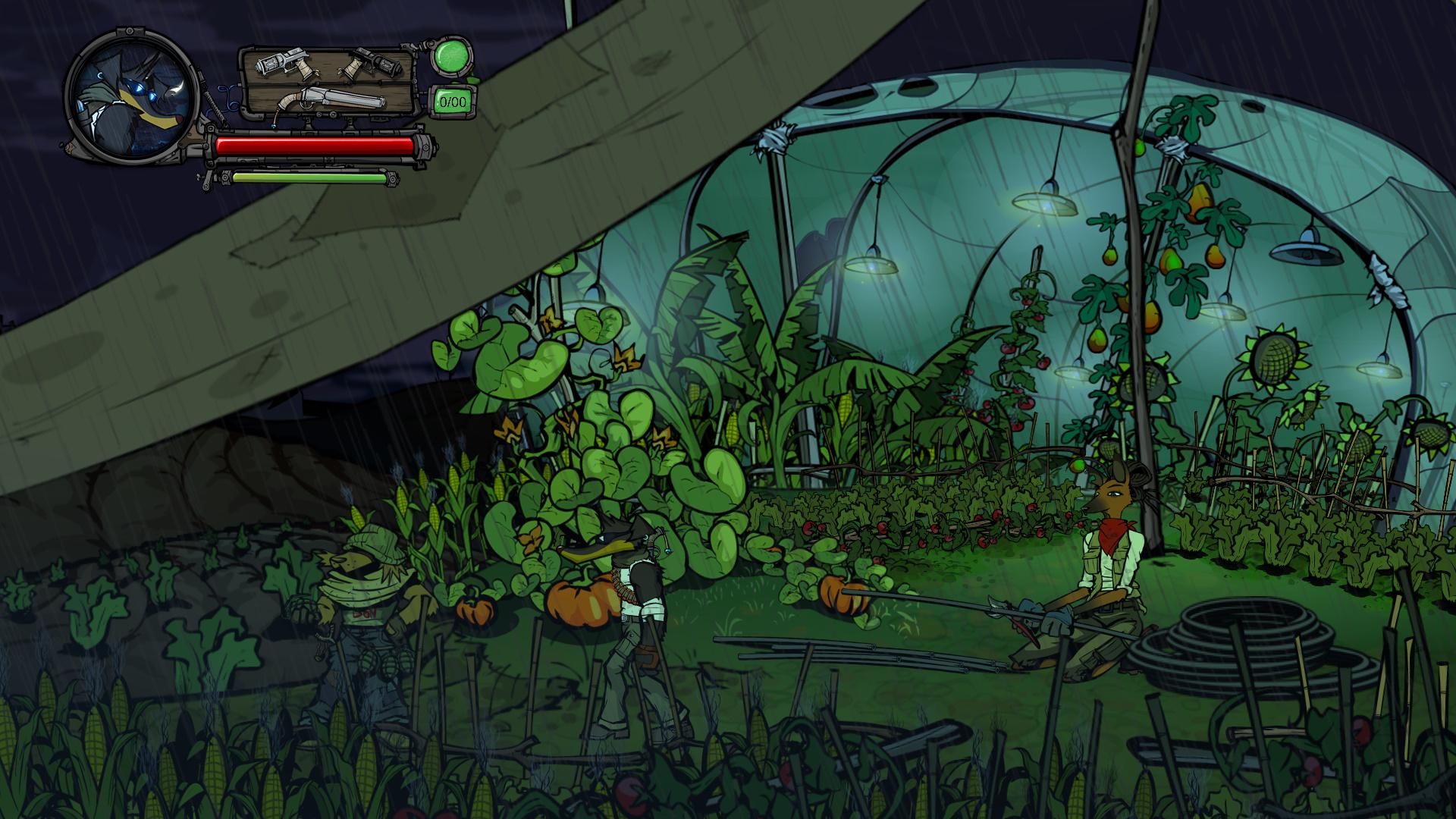Buck - Underdog Indie Game - Grüne Welten