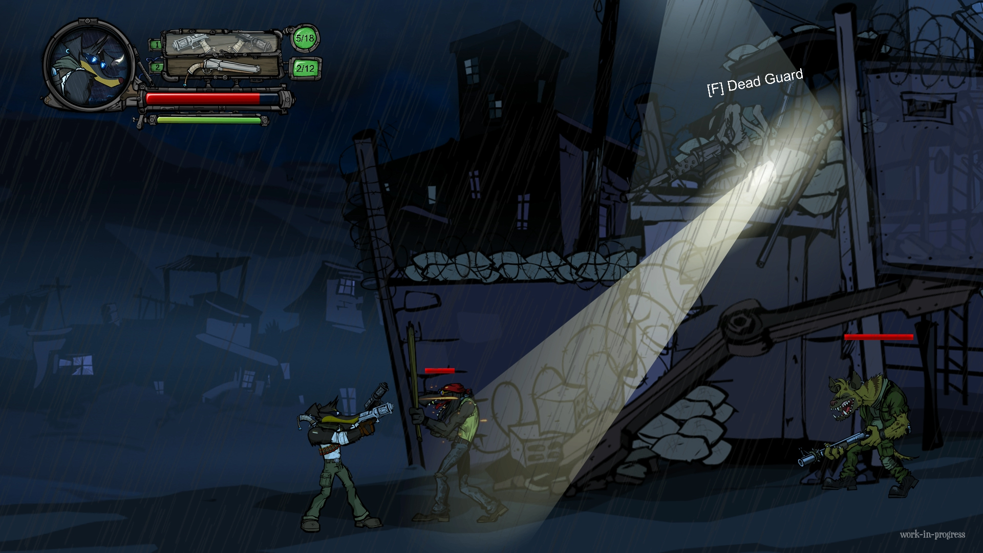 Buck - Underdog Indie Game - Kampf gegen gemeine Gegner