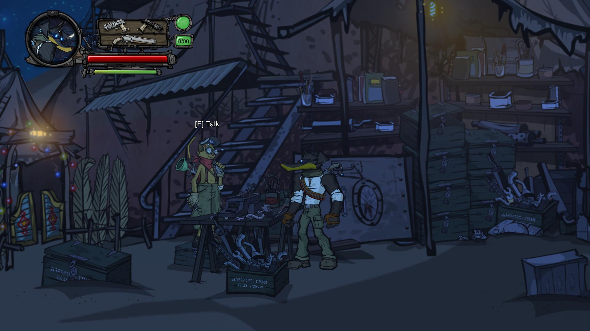 Buck - Underdog Indie Game - Katzen NPC