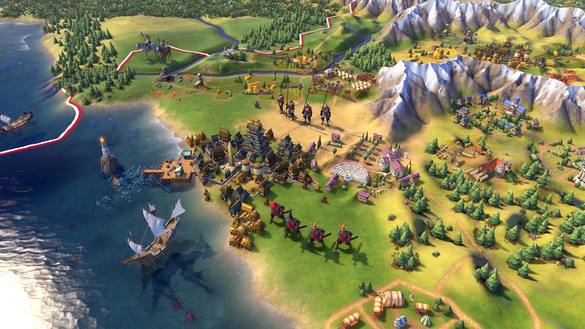 Civilization VI - Distrikte bilden die Basis für Bauwerke und Wunder