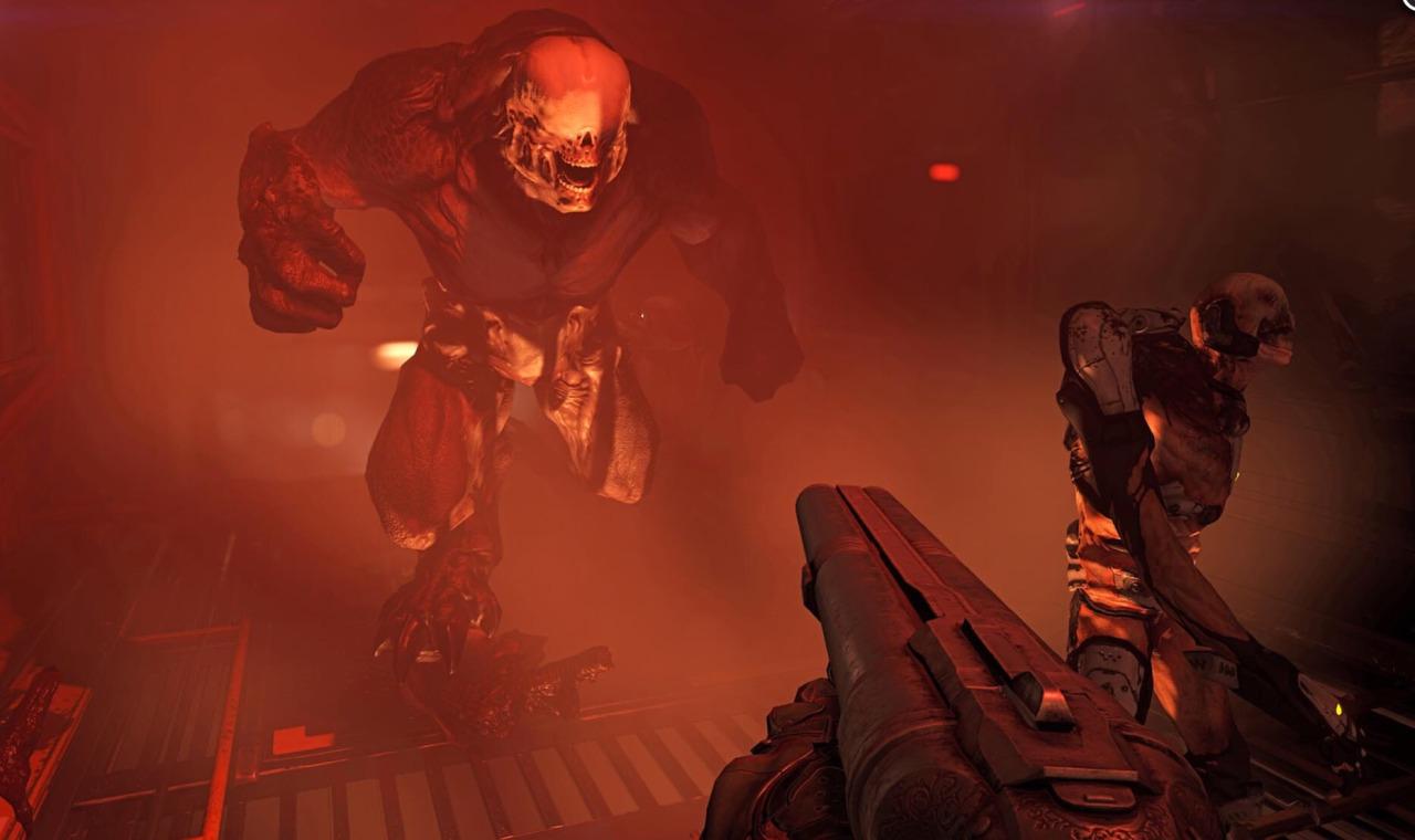 DOOM - Mit der Shootgun gegen böse Monster - Leider kein Spaß mehr