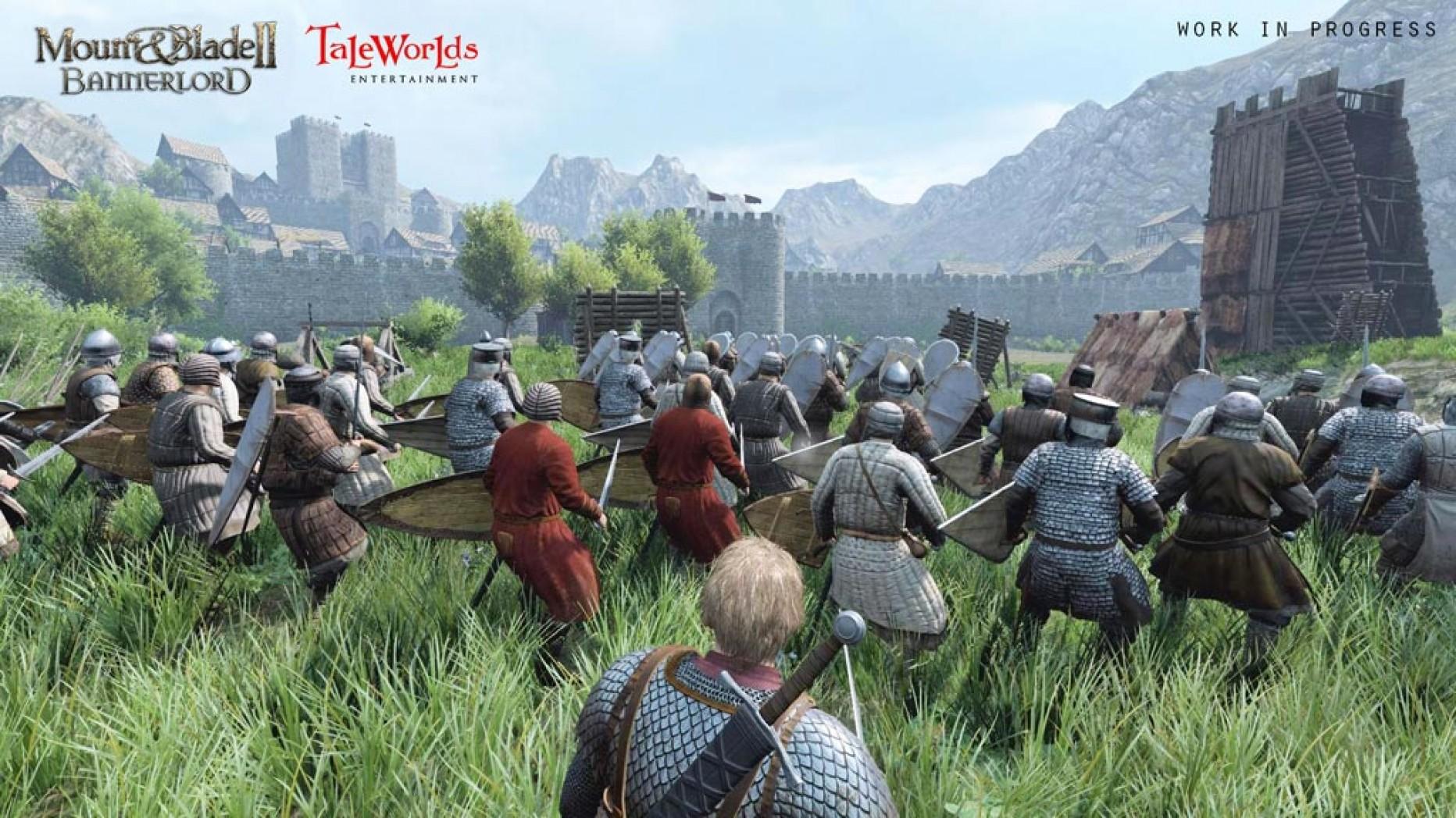 Mount and Blade II Bannerlord – Neuer Belagerungstrailer E3 2016