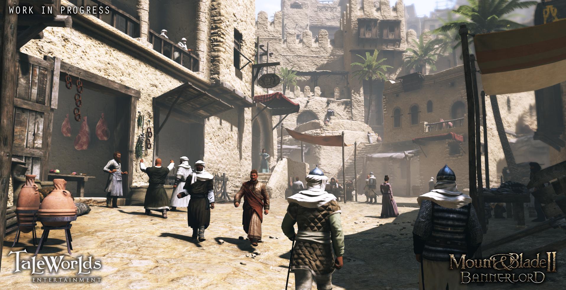 Mount and Blade II Bannerlord – Wüsten Stadt