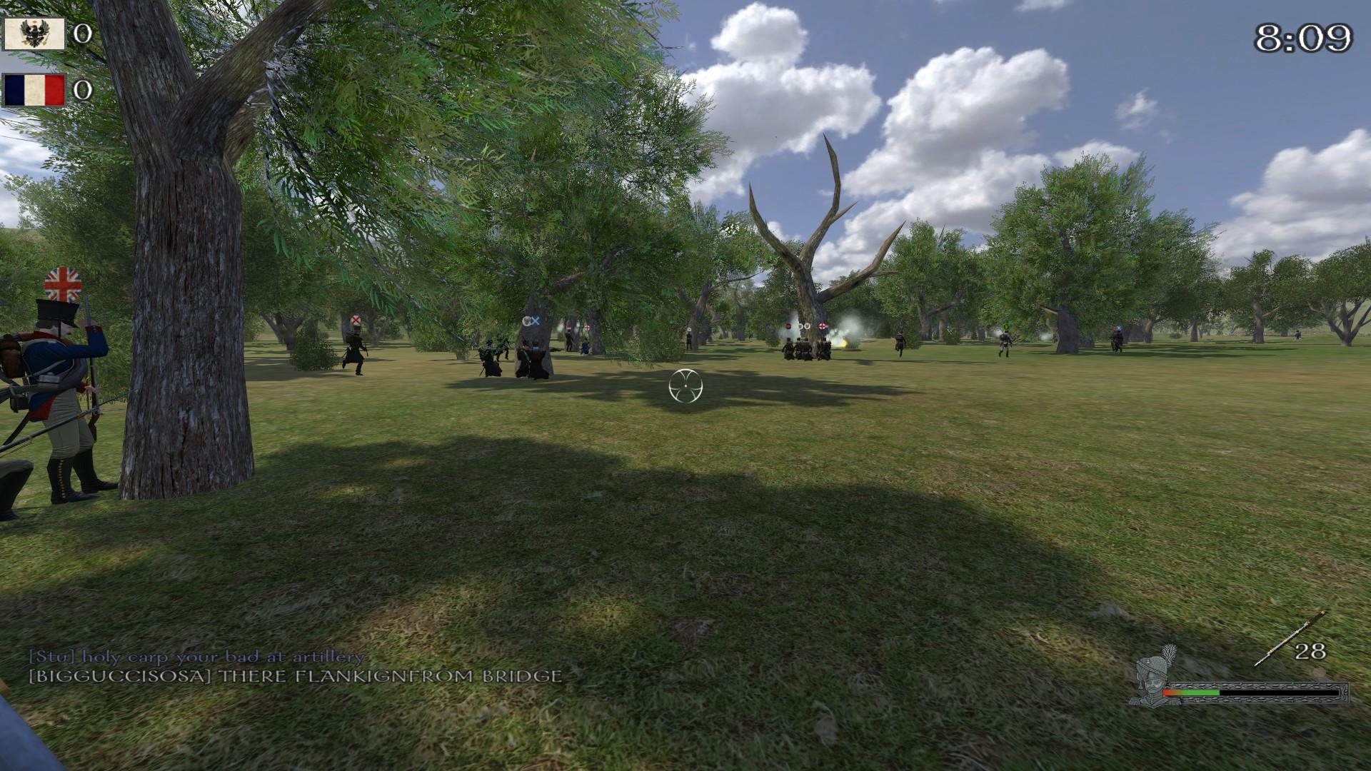 Mount & Blade Warband – Napoleonic Wars - Kampf in einem Wald