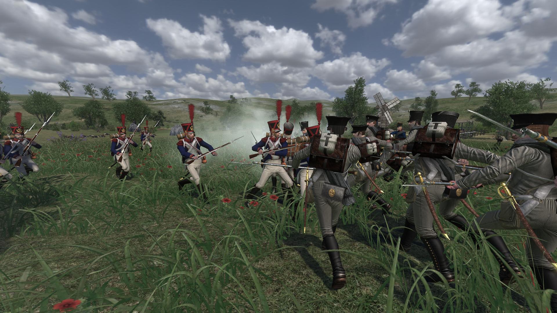 Mount & Blade Warband – Napoleonic Wars - Nahkampf mit Bajonett
