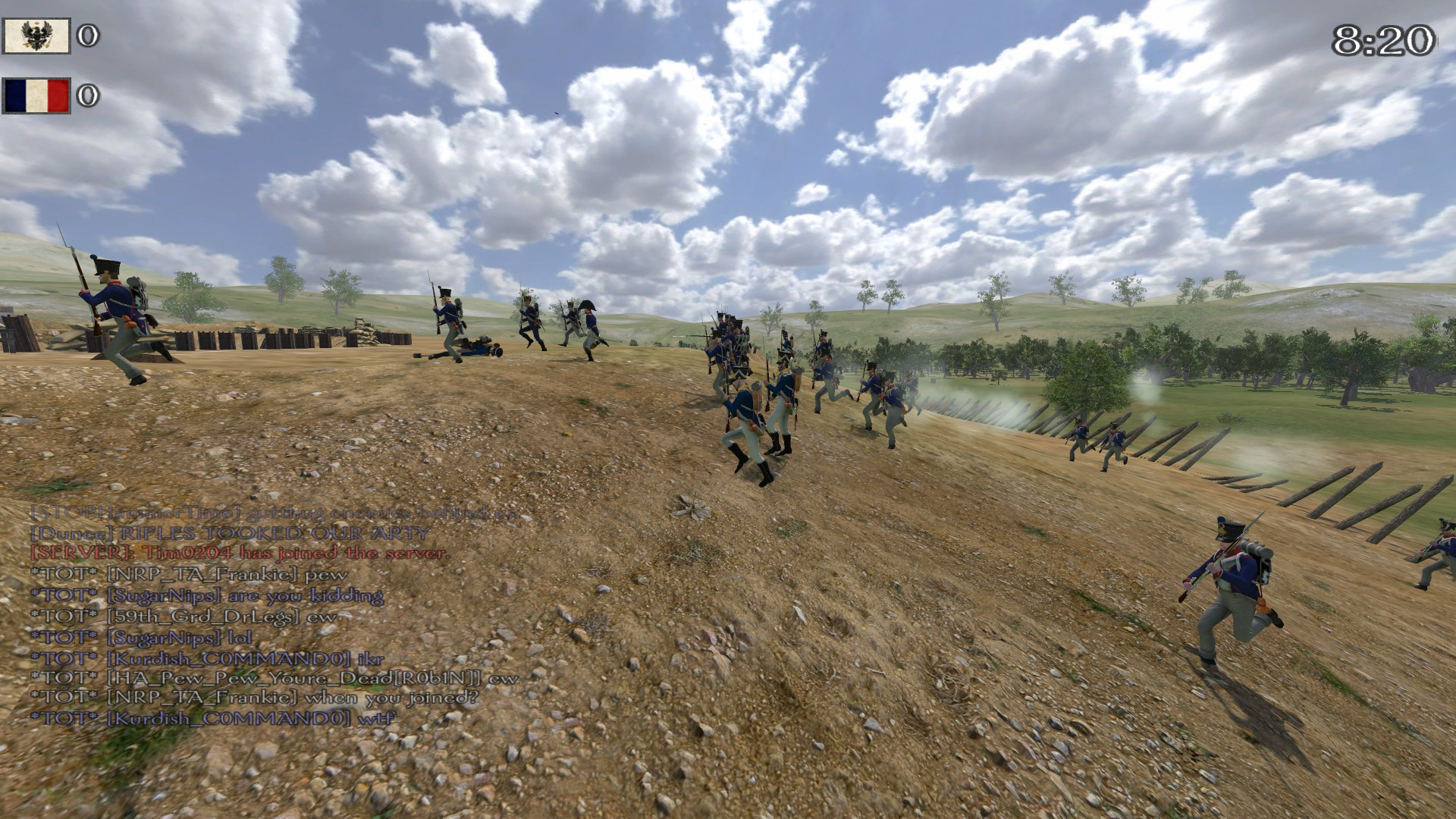 Mount & Blade Warband – Napoleonic Wars - Sturm französischer Soldaten