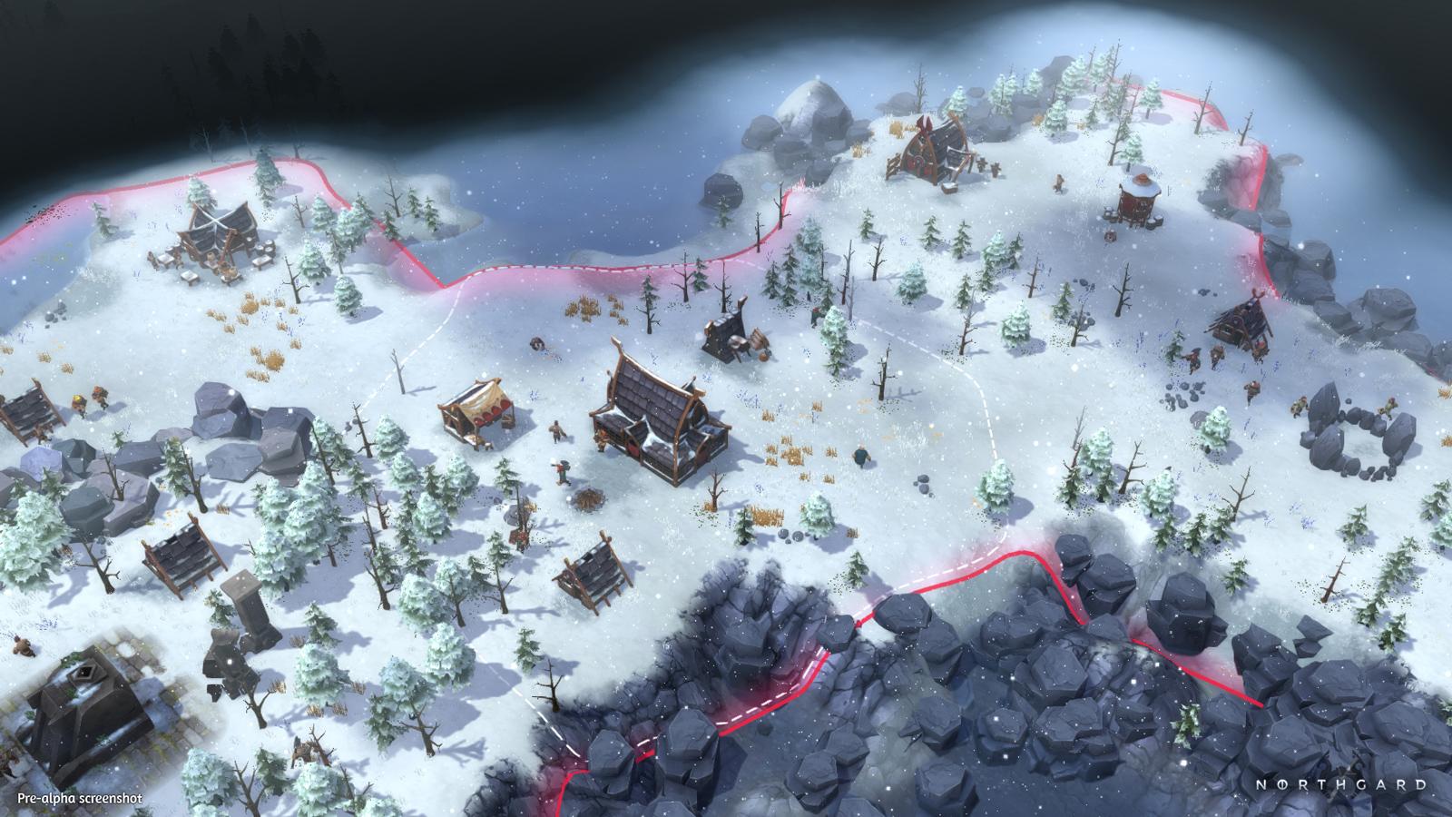 Northgard – Ein Dorf im kalten Winter