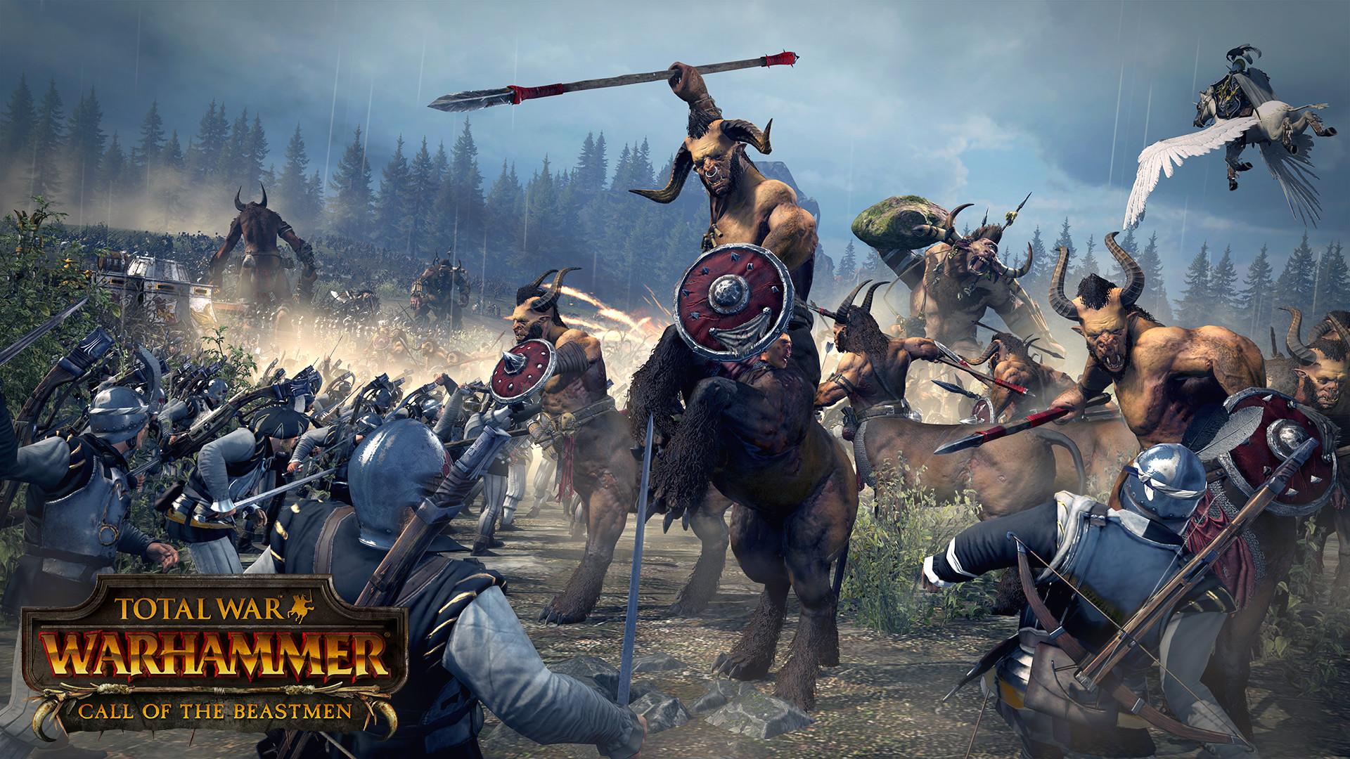 Total War - WARHAMMER - Tiermenschen DLC kostet 18 Euro