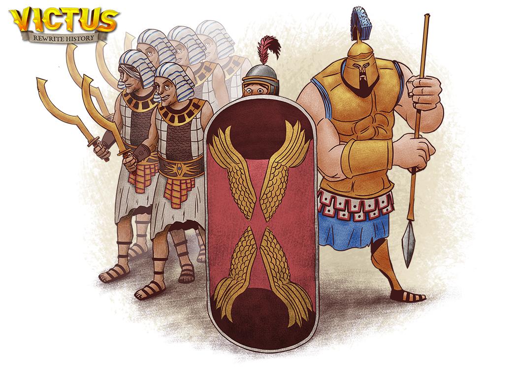 Victus Game Rewrite History – Kickstarter Kampagne gestartet - 3 Völker