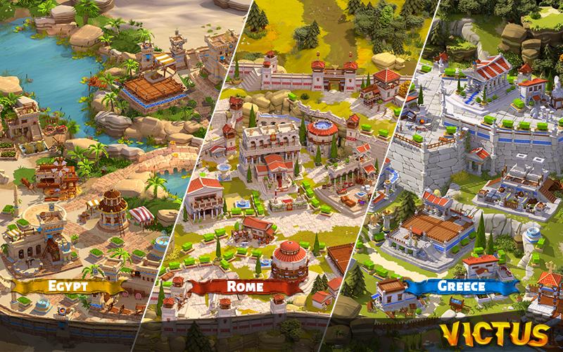 Victus Game Rewrite History – Kickstarter Kampagne gestartet - Die Städte der Völker
