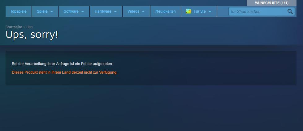 Steam entfernt 27 Titel aus dem Stor - Indizierte Games von Steam verbannt
