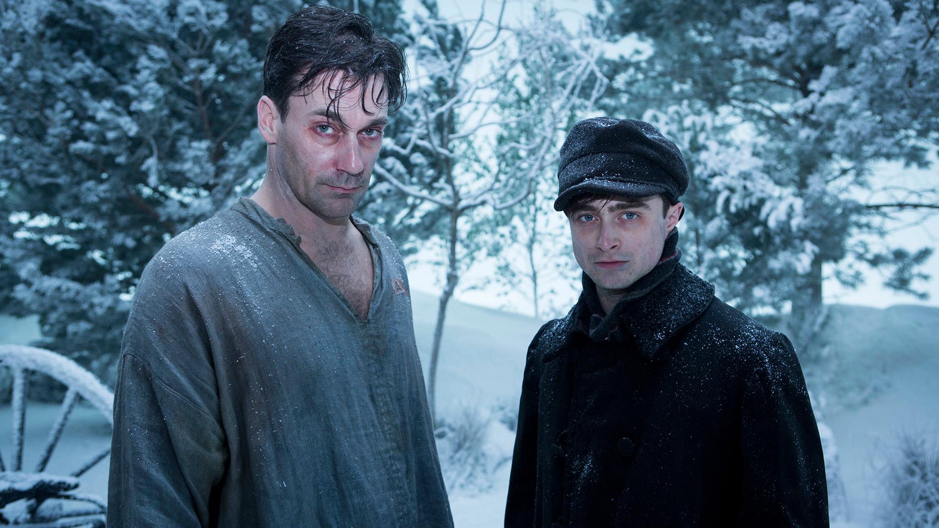 A Young Doctor's Notebook - Bomgard alt und jung im Schnee