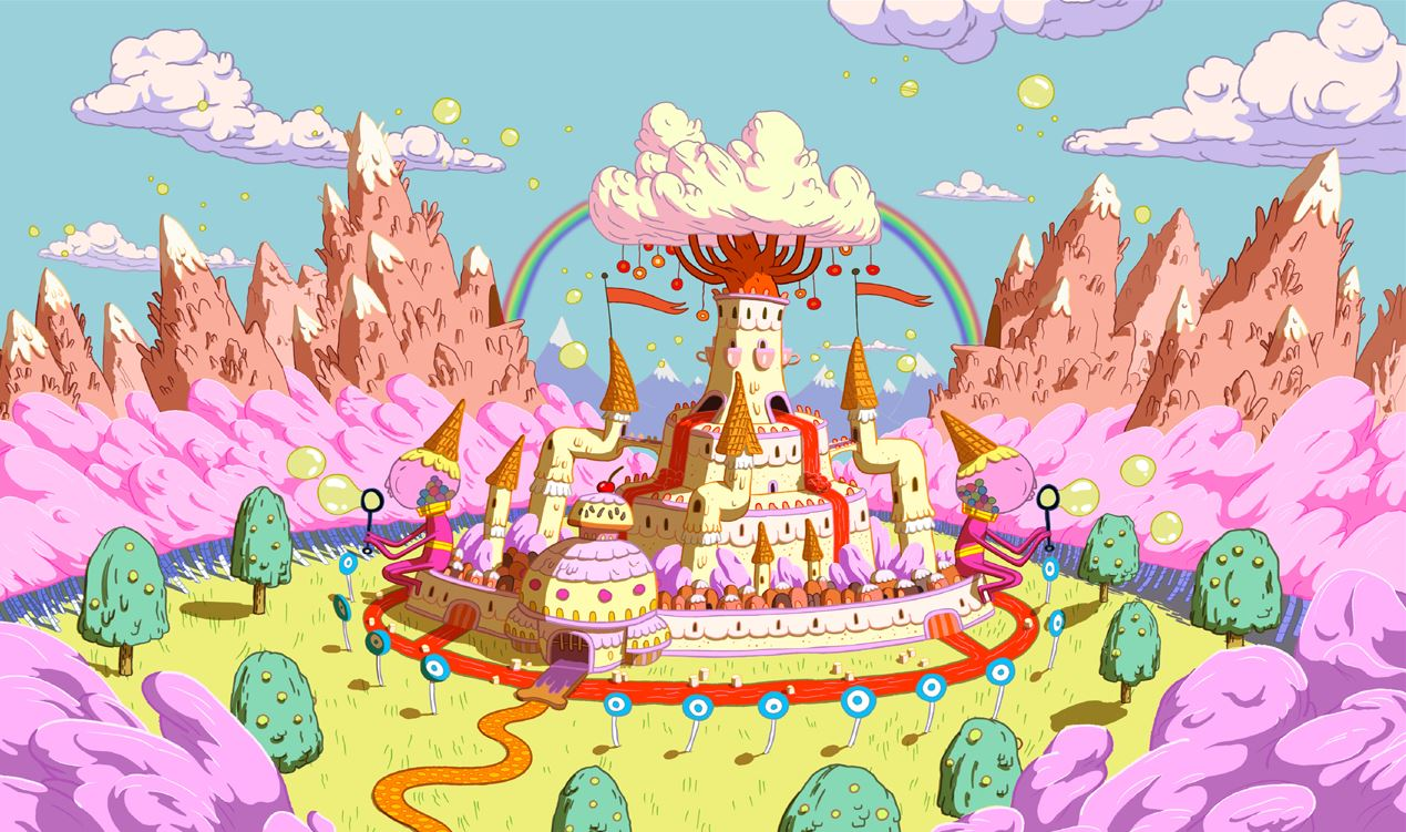 Adventure Time - Candy Land