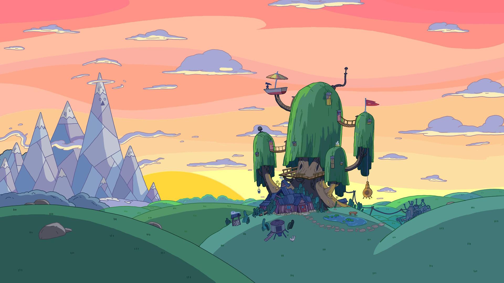 Adventure Time - Das Baumhaus von Jake und Finn