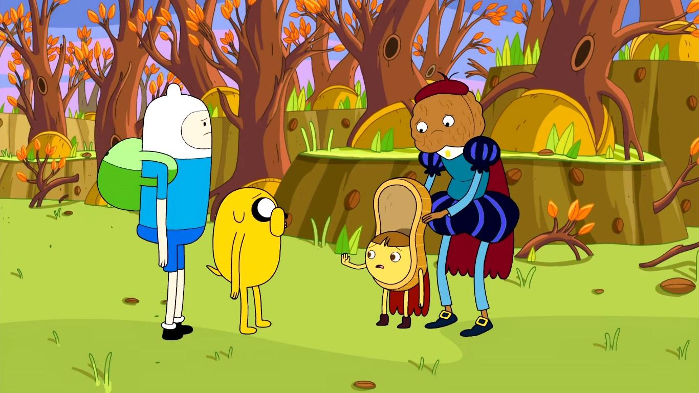 Adventure Time - Im Nusswald