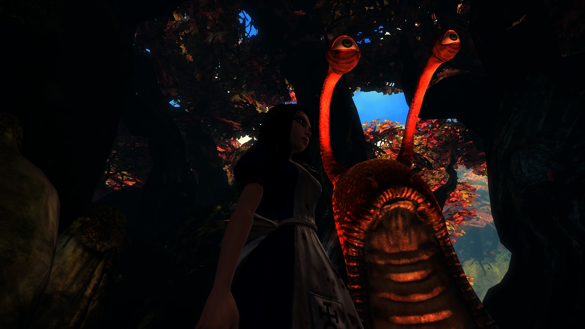 Alice Madness Returns - die große Schnecke