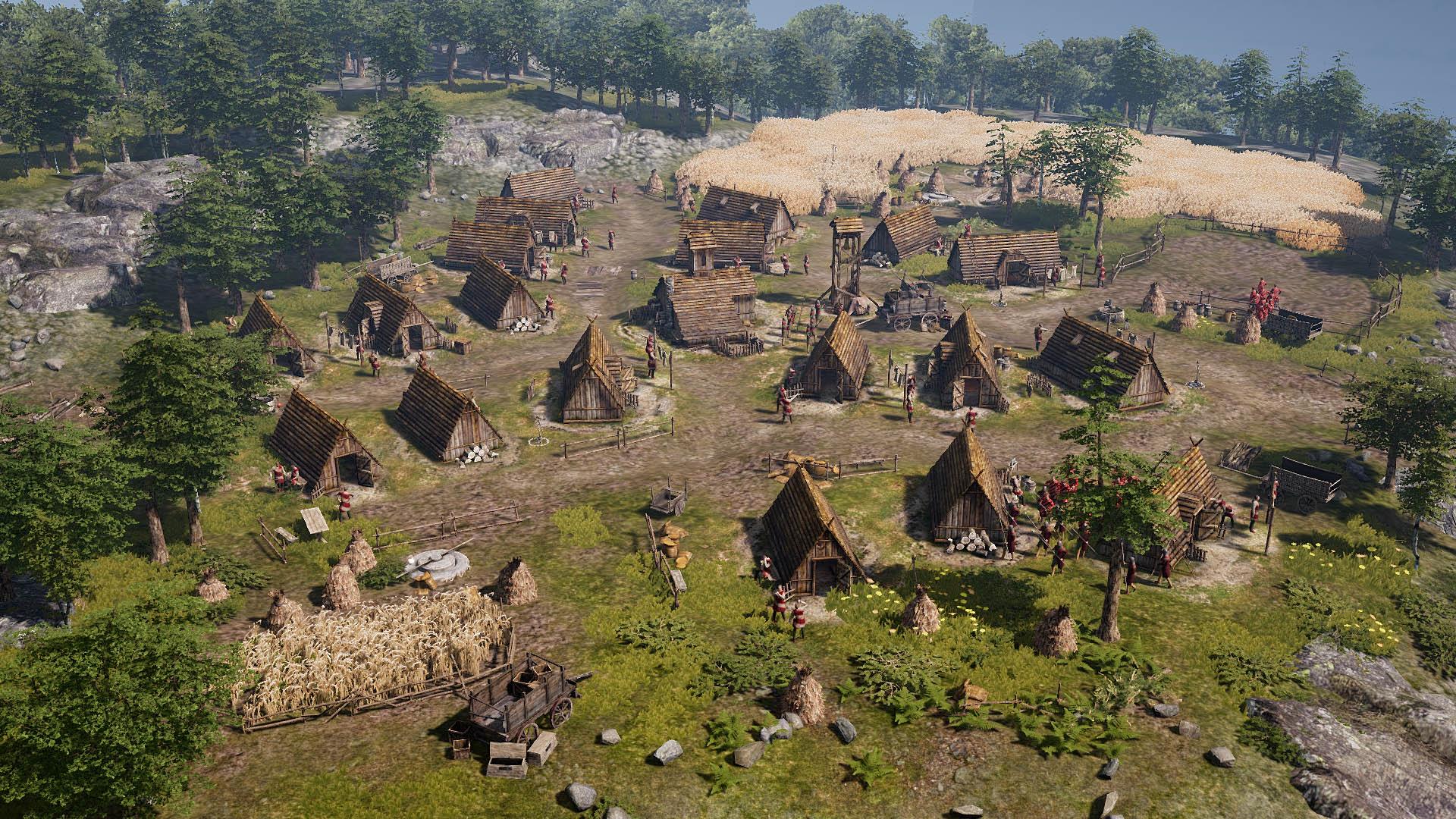 Ancestors Legacy - Ein friedliches Dorf