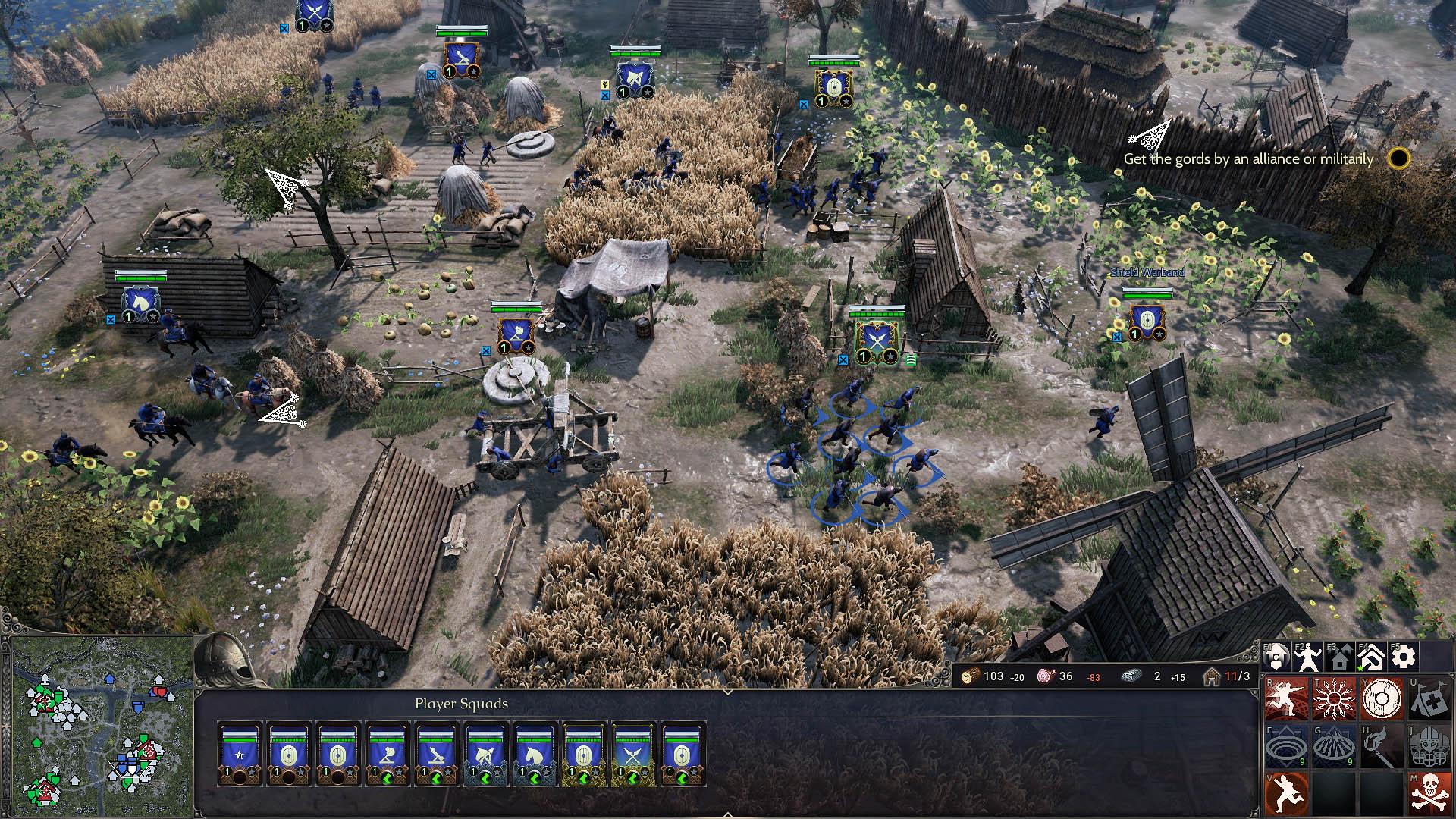 Ancestors Legacy - Truppen ziehen durch die schöne Spielwelt