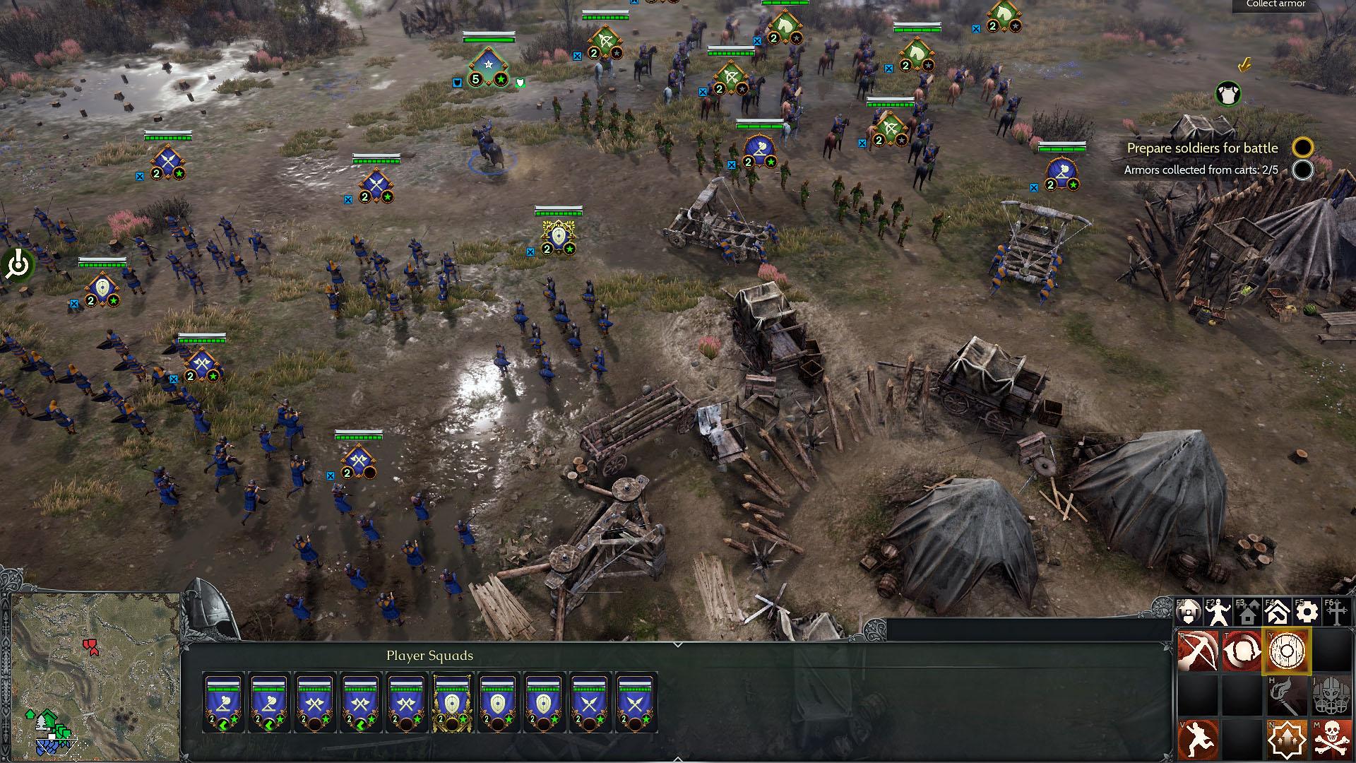 Ancestors Legacy - Zwei verbündete Armeen