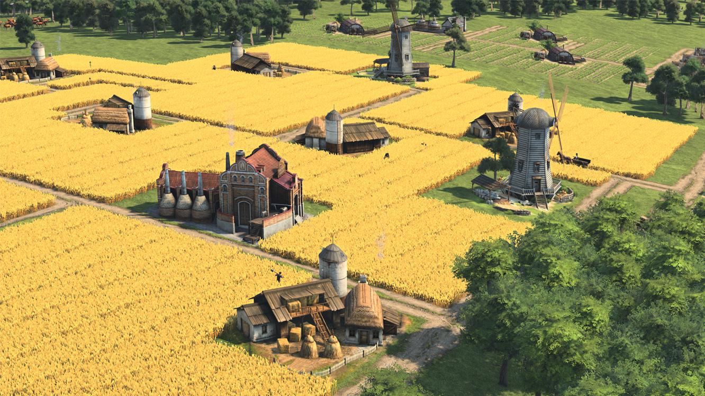 Anno 1800 - Große Getreidefelder