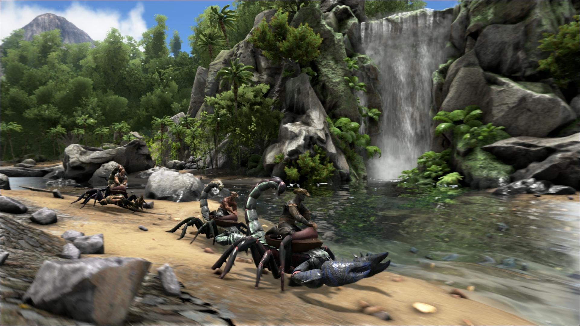 ARK - Survival Evolved - Auf Skorpionen reiten
