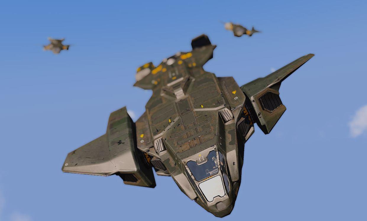 ArmA 3 Mod - The Eridanus Insurrection - Flugzeuge am Himmel.JPG