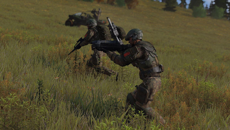 ArmA 3 Mod - The Eridanus Insurrection - Fußtruppen auf dem Vormarsch.JPG