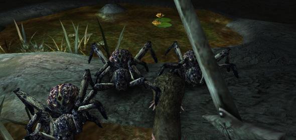 Arx Fatalis 004 Spinnen