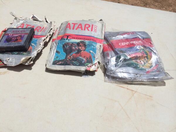 Atari Module ET aus der mexikanischen Wueste