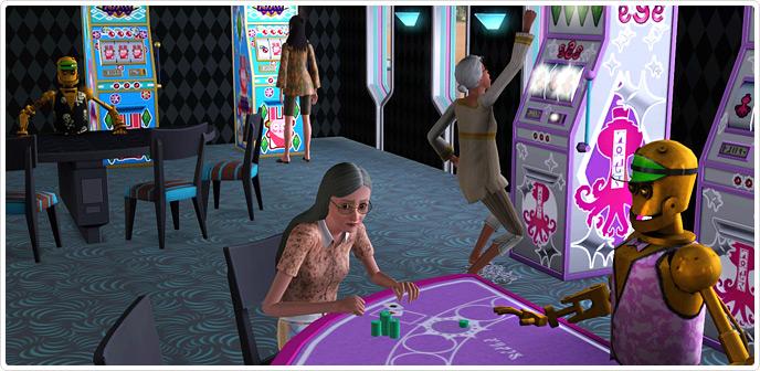 Die Sims 3 - Lucky Simoleon Casino