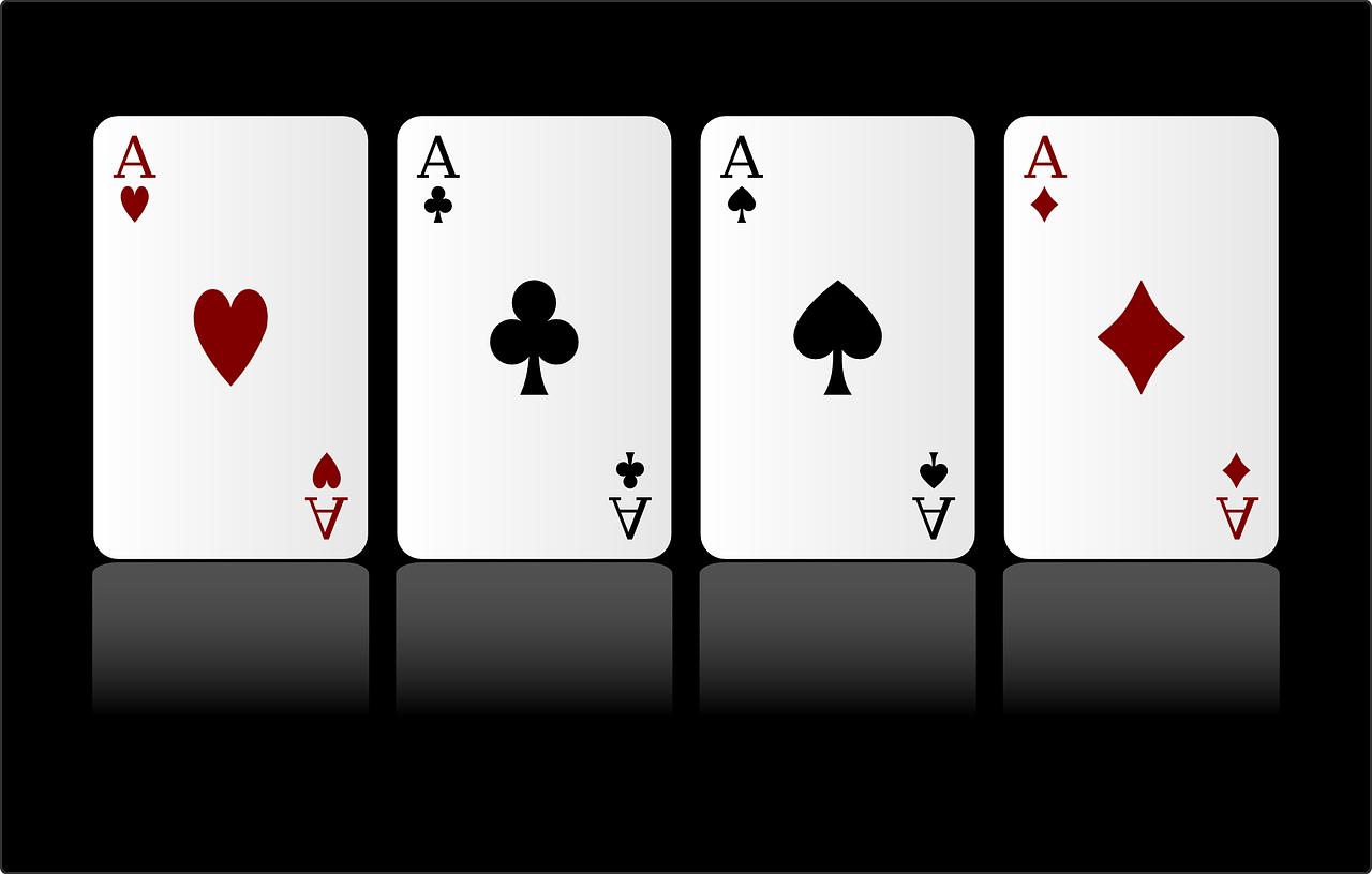 Kartenspiel -französisches Farbsystem