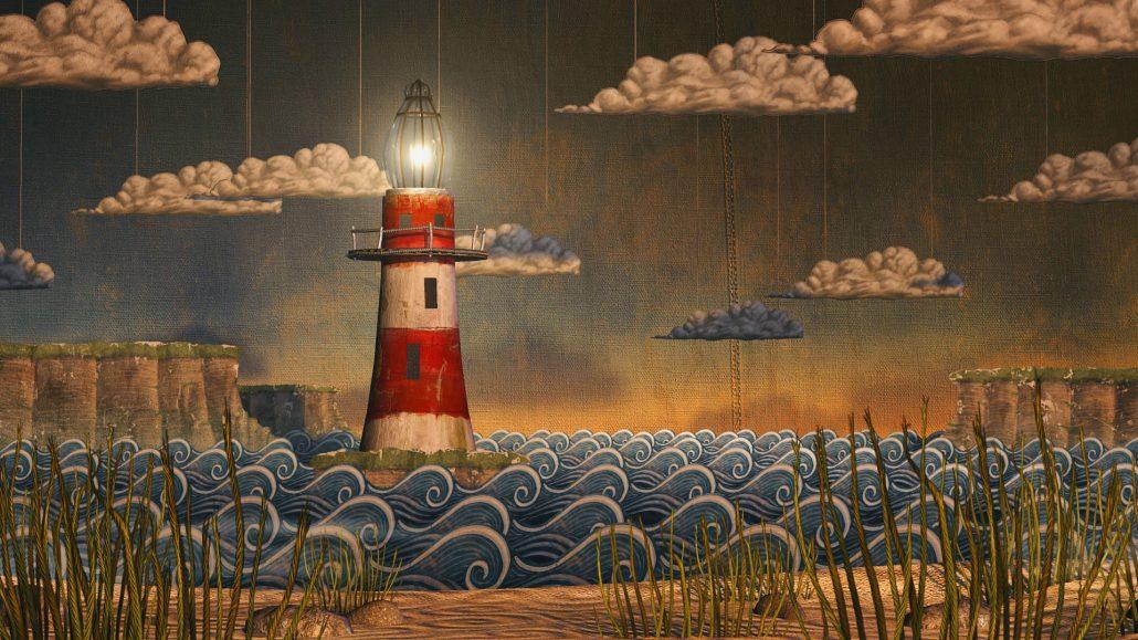 Backdrop - Ein Leuchtturm