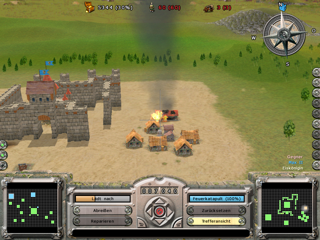 Ballerburg - Ascaron - Festung und Feuer
