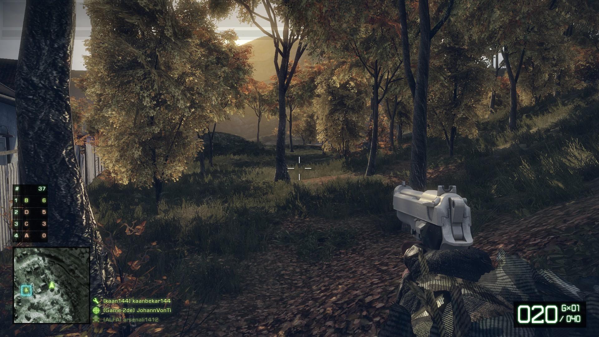 Battlefield Bad Company 2 - In einem Wäldchen