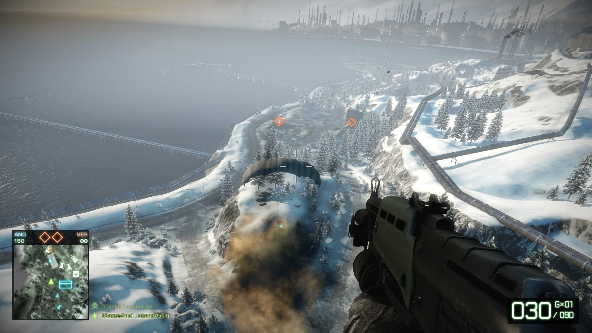 Battlefield Bad Company 2 - Mit dem Fallschirm in den Kampf