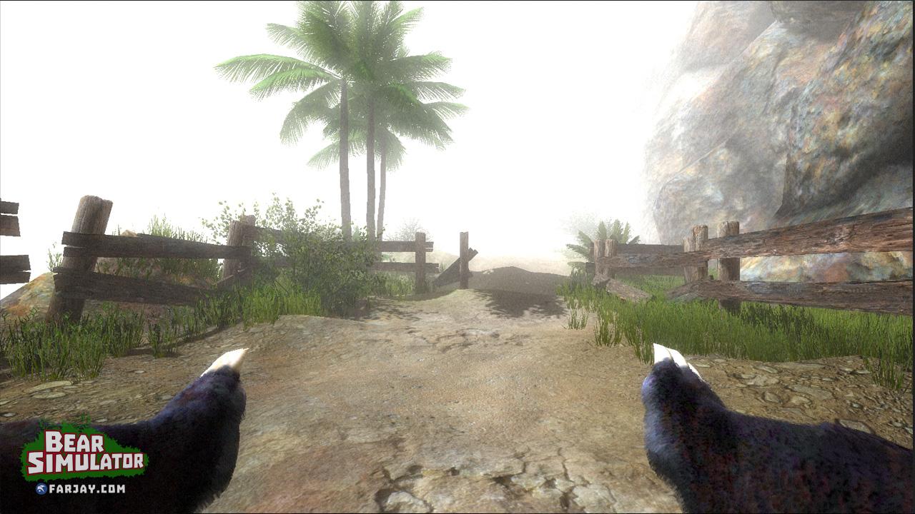 Bear Simulator – Mit GameGuru gemacht könnte man denken