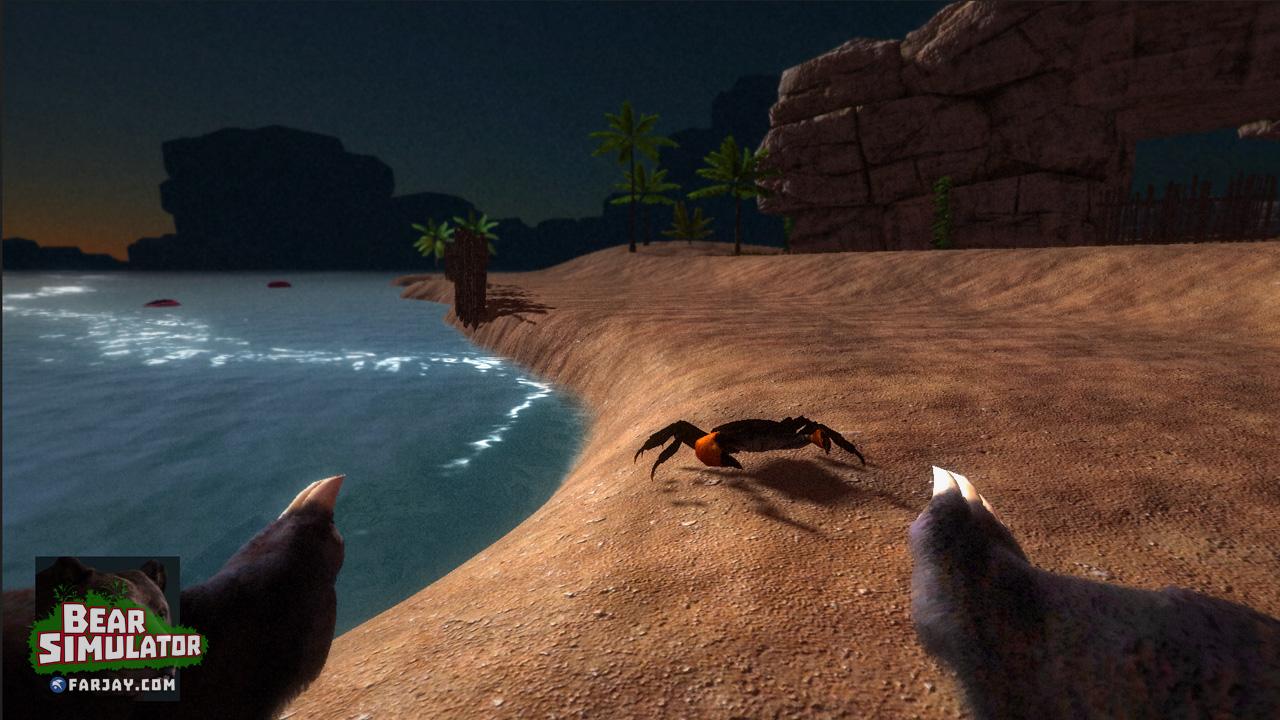 Bear Simulator – ein sehr hässliches Game