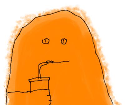 Game 2 Chars Big Orange