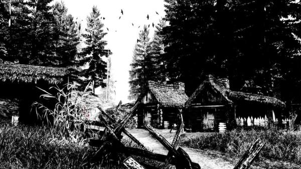 Betrayer Das Dorf in Schwarz Weiss