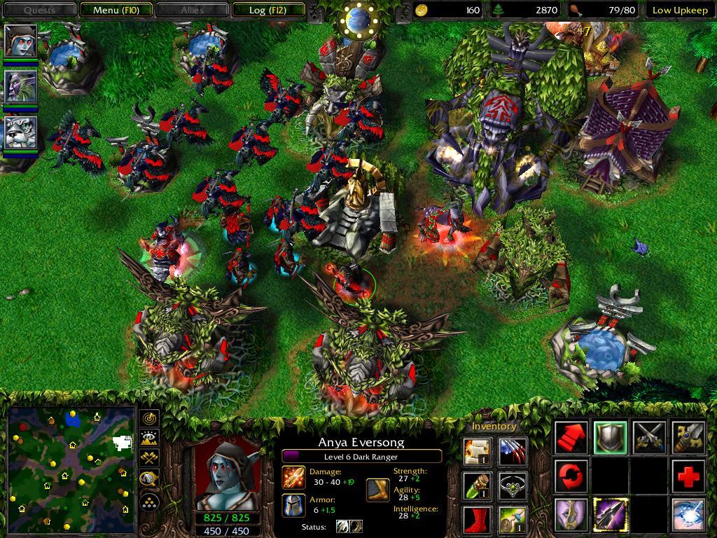 Warcraft 3 - Basis der Nachtelfen