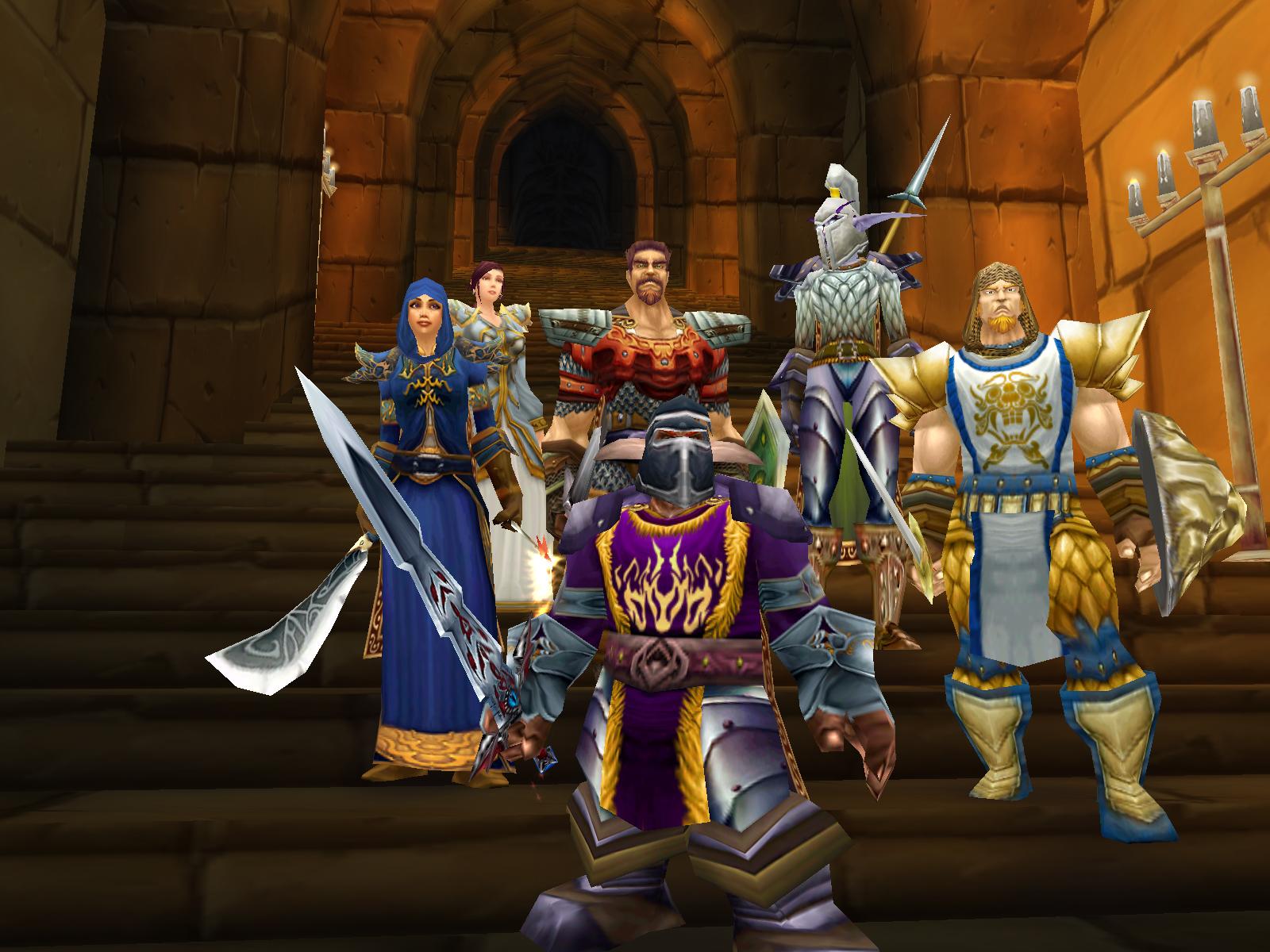 World of Warcraft - Helden Gruppe