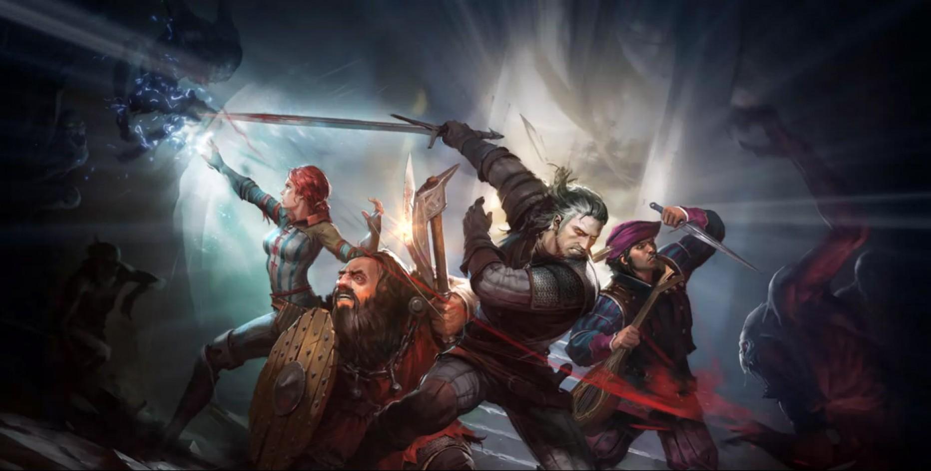The Witcher - Die Freunde des Herxers im Kampf