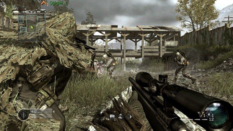 Call of Duty 4 MW1 Sniper