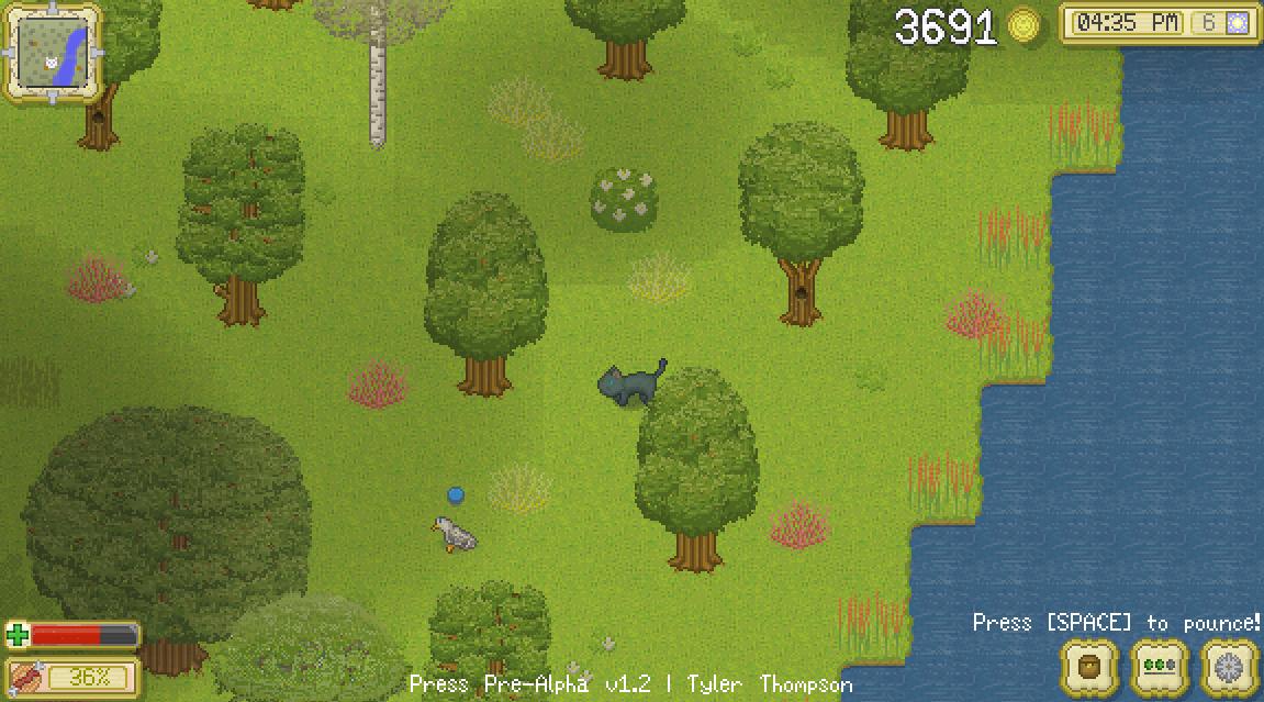 Cattails - Im Wald lässt es sich leben