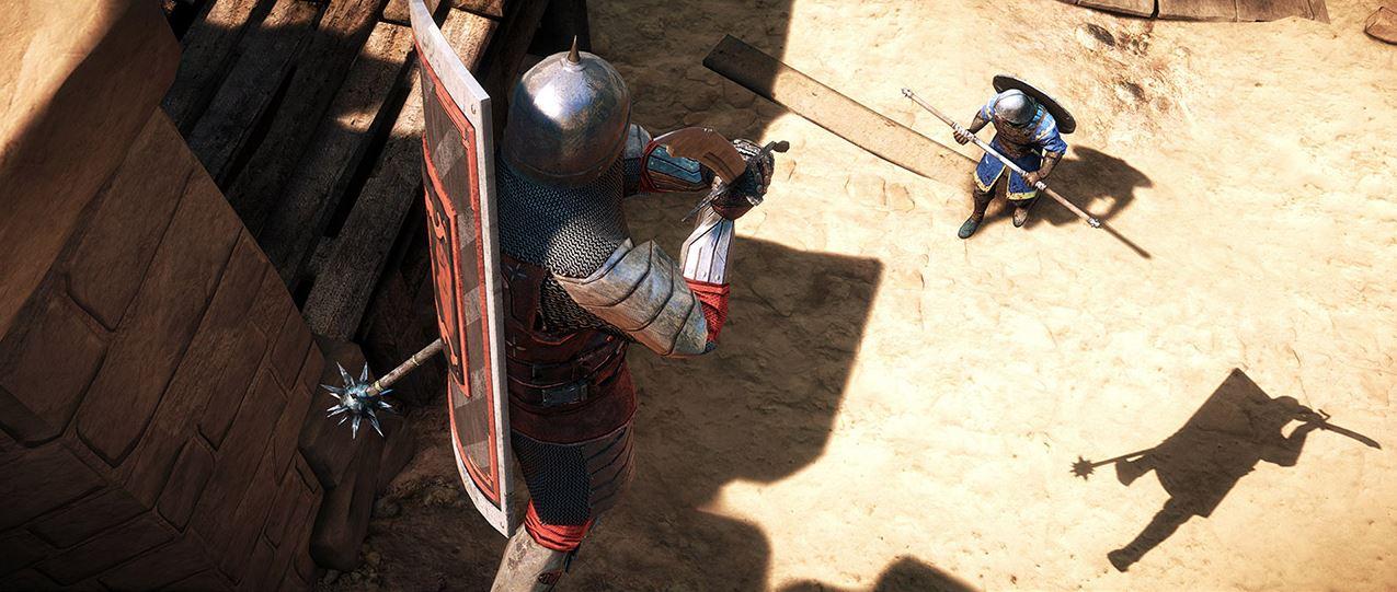 Chivalry Medieval Warfare Angriff aus dem Sprung
